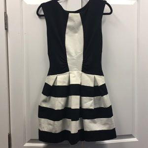 Eva Franco, Black & White Dress